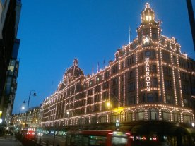 Harrods early Summer evening