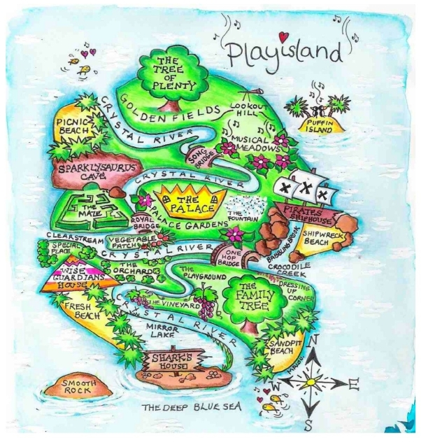 Map of Play Island