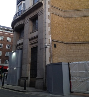 Whiteleys of Bayswater just before demolition and reconstruction