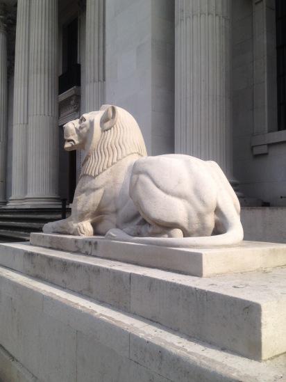 Lion of Marylebone Road