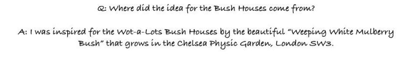 P1 Q&A CHELSEA REAL BUSH HOUSE