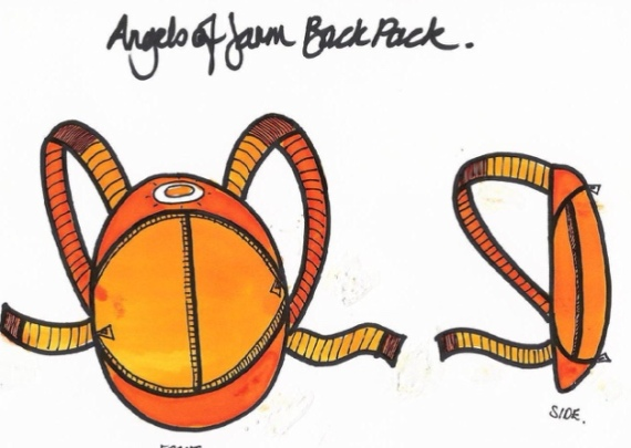 Angels of Jarm Unique Backpack!
