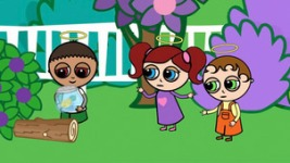 Little Jarm Angel Rafe, Goldfish, Ellie and Michael