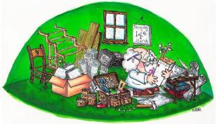 MB ORIGINAL INVENT-A-LOT IN HIS BUSH HOUSE