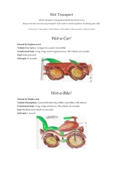MB Wot Transport WOT-A-CAR AND WOT-A-BIKE