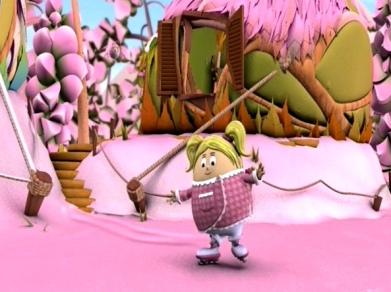 Happy Beep-Pink-Snowday!