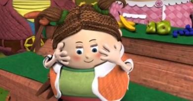Teeny-Beep blushing!