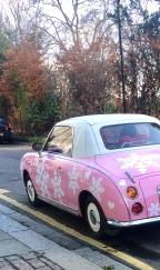 Barbie Snow Car!