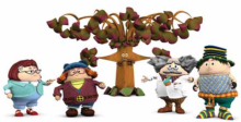 Wot-a-Beep-Beep Tree and some of his Beep friends!