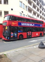 Antiviral disinfectant now used on London Buses during lockdown