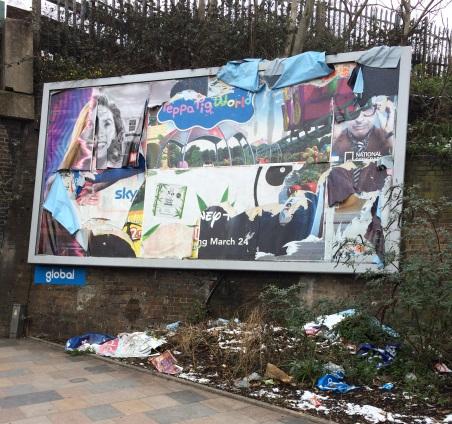Clapham Billboard Before