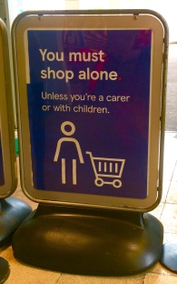 Shopping rules at Tesco during Pandemic 3