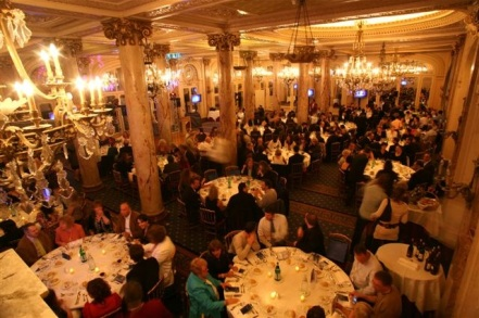 Launch Dinner at the Cannes Carlton
