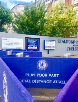 Great Day! 10,000 Chelsea Fans allowed in to watch Chelsea v Leicester City 18th May 2021. First time since Lockdowns 2020