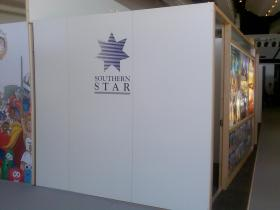 Side section of Southern Star Stand