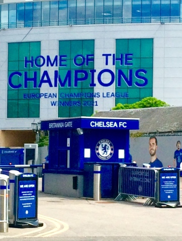 Chelsea Chelsea Home of the Champions!