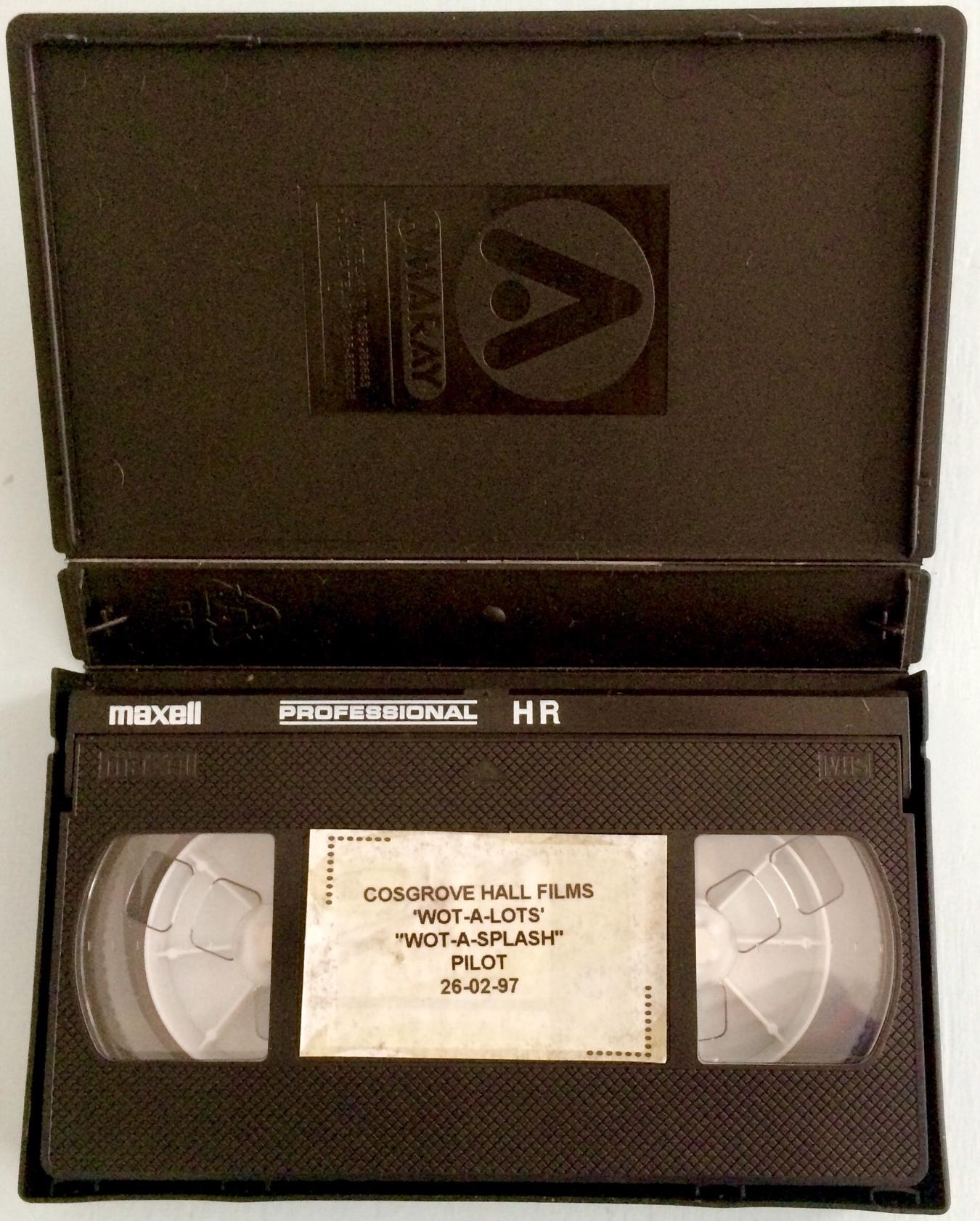 "Cosgrove Hall Films VHS Original ""Wot-a-Splash!"" Pilot"